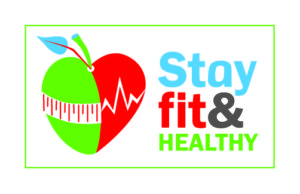 stay fit and healthy logo