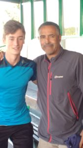 Daley Thompson and my son