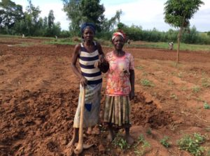 Women farmers in Sitima