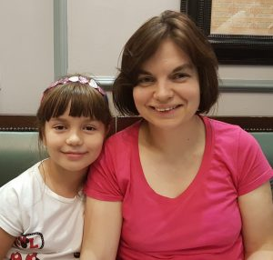 Polish penpal and her daughter