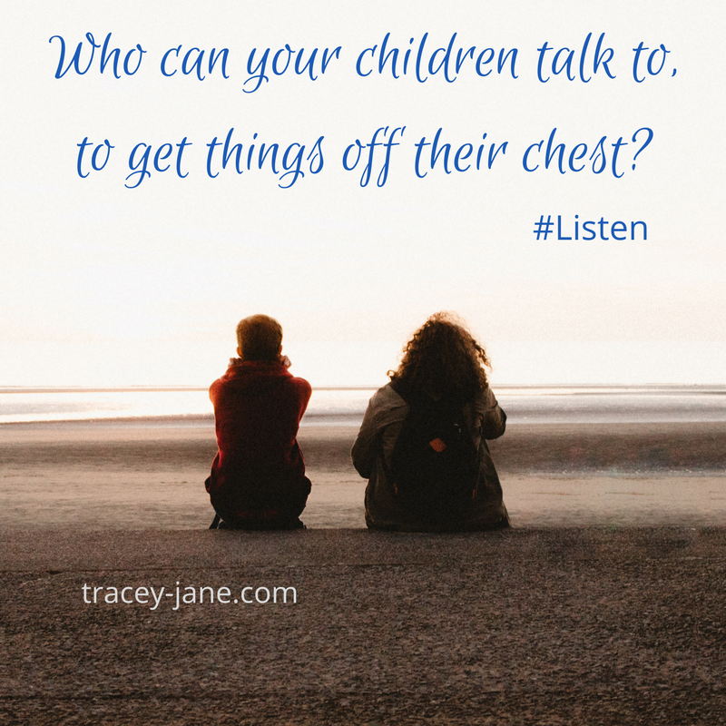 who can children talk to. Listen