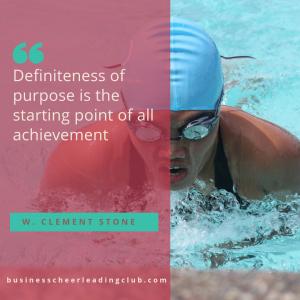 define your purpose to achieve success