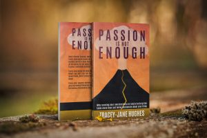 Passion is not enough draft book cover