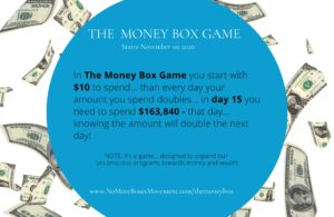 Money box game